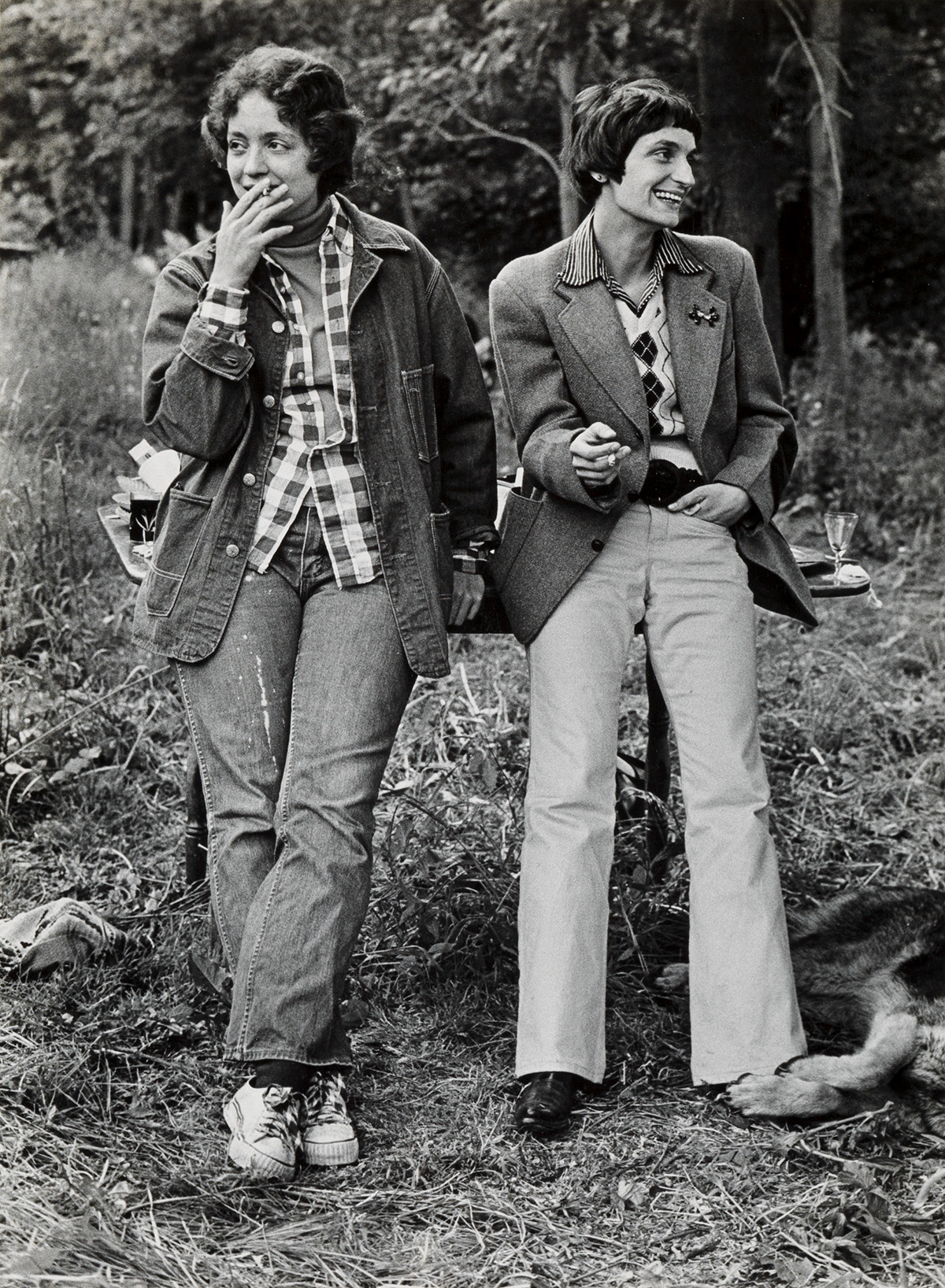 JOAN-E-BIREN-(1944---)--Ginger-and-Catherine