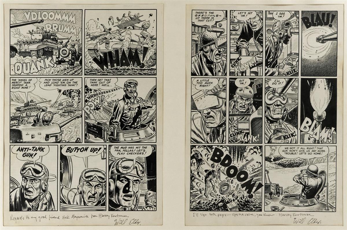 WILL ELDER (AND POSSIBLY JOHN SEVERIN). Combat. [COMICS / CARTOONS / WAR / TWO-FISTED TALES]
