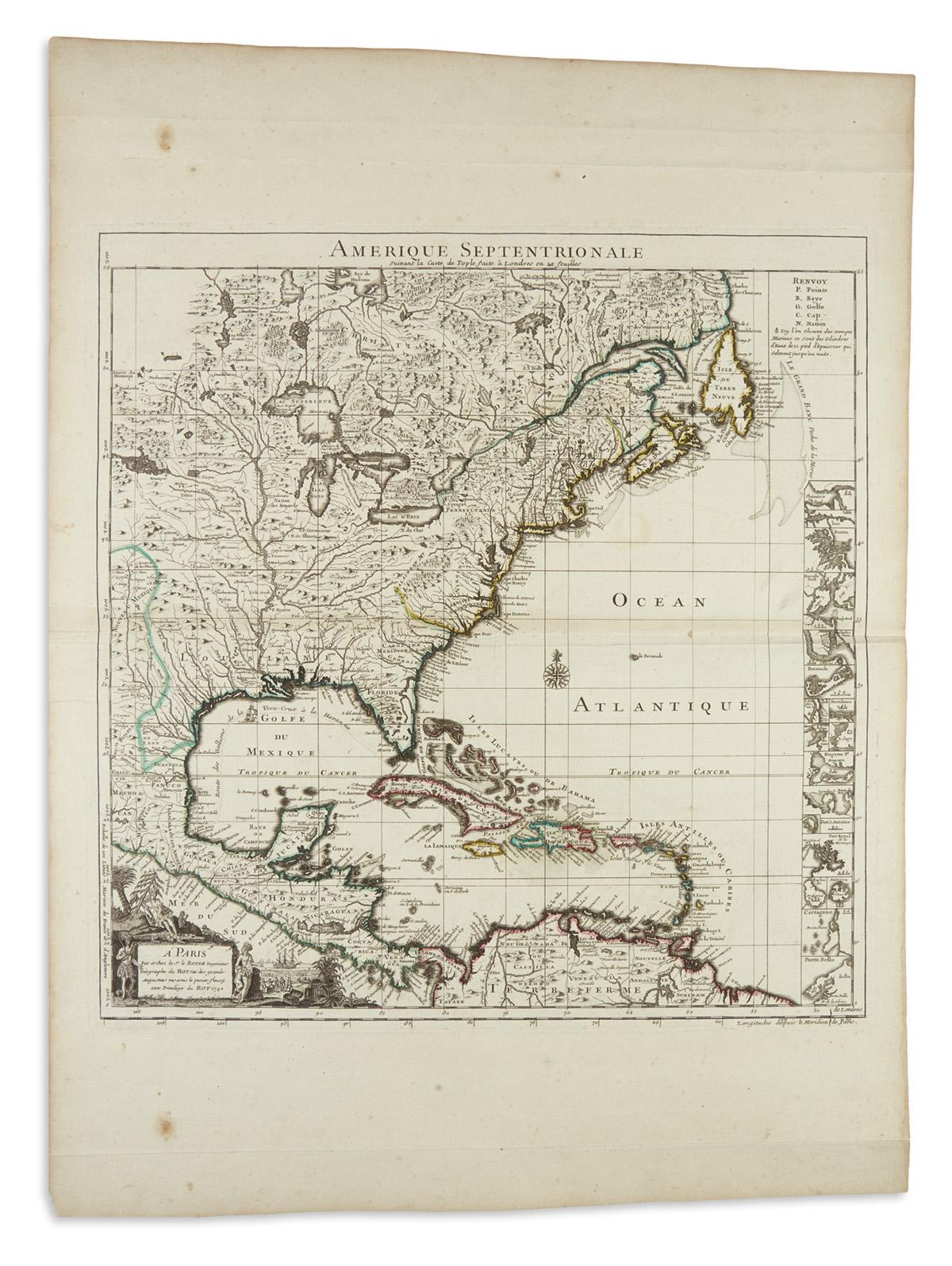 LE-ROUGE-GEORGES-LOUIS;-after-POPPLE-HENRY-Amerique-Septentr