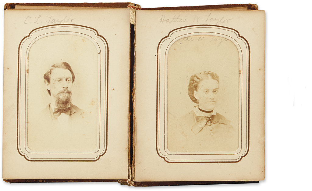 (CIVIL WAR--CONNECTICUT.) Taylor, Charles L. Correspondence and diary of a lucky sergeant in the 16th Connecticut.