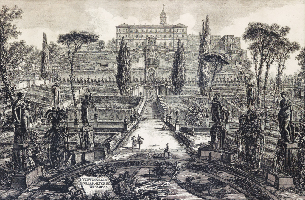 GIOVANNI-B-PIRANESI-Two-etchings-from-the-Vedute-di-Roma