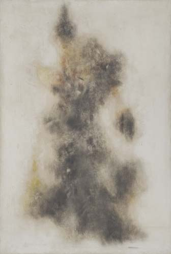 NORMAN LEWIS Untitled (Abstract Form).