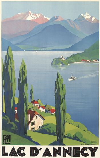 ROGER-BRODERS-(1883-1953)-LAC-DANNECY-1930-39x24-inches-100x