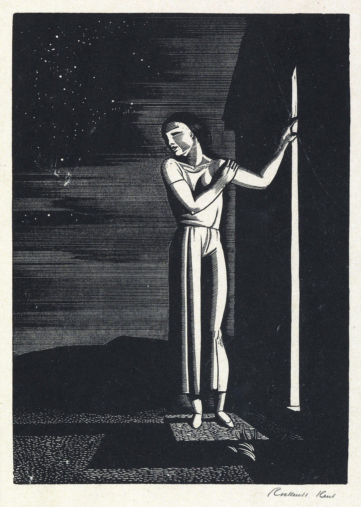 ROCKWELL-KENT-Starry-Night