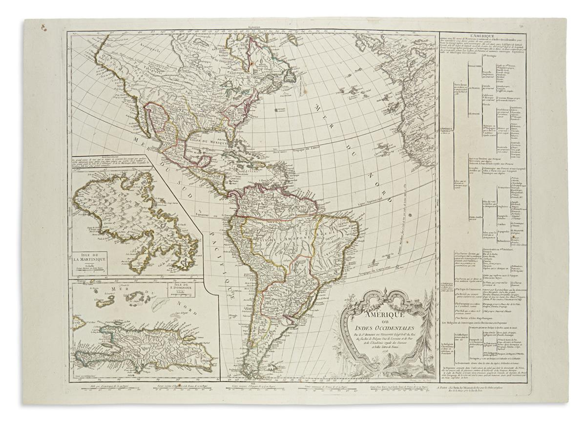 ROBERT-de-VAUGONDY-DIDIER-Amerique-ou-Indes-Occidentales