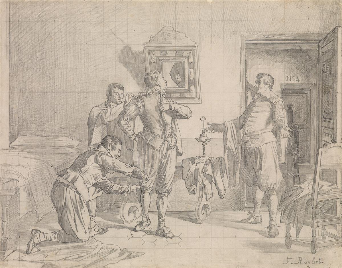 FERDINAND-ROYBET-(Uzès-1840-1920-Paris)-The-Fitting-Dressing