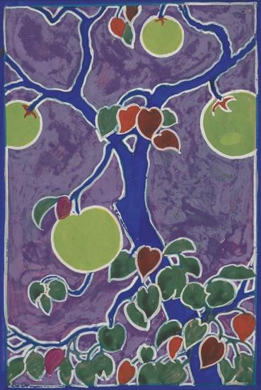 DOX THRASH (1892 - 1965) Green Apple Tree.