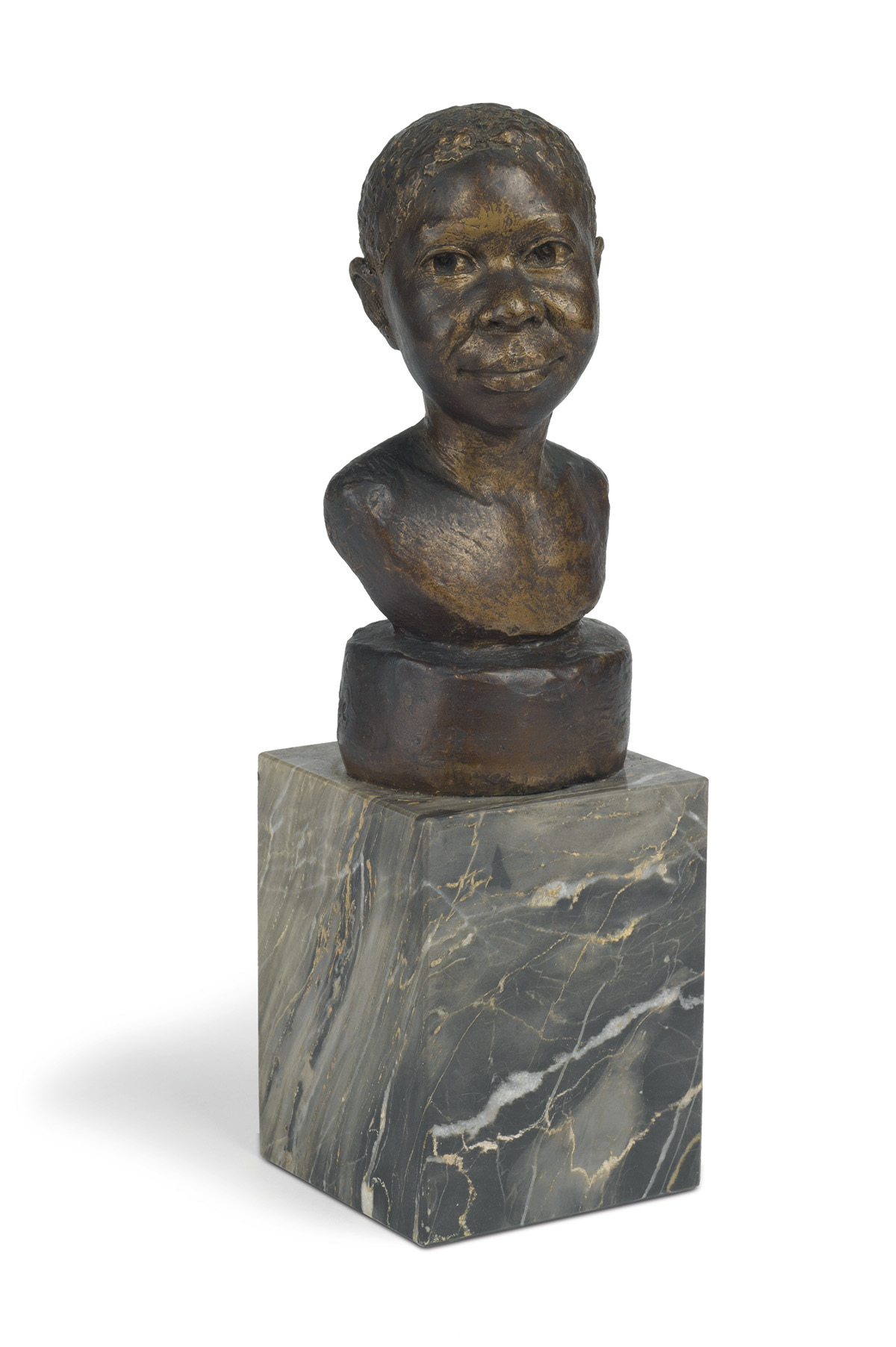 AUGUSTA-SAVAGE-(1892---1962)-Head-of-a-Young-Girl-(Martiniqu