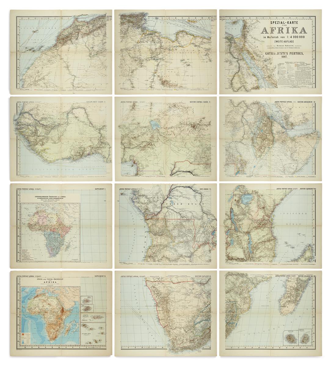 (AFRICA)-Habenicht-Hermann-Spezial-Karte-von-Afrika
