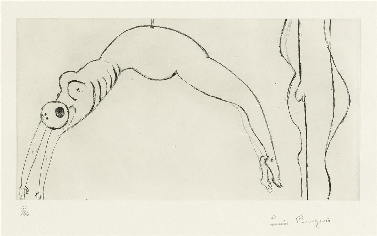 LOUISE BOURGEOIS Arched Figure.