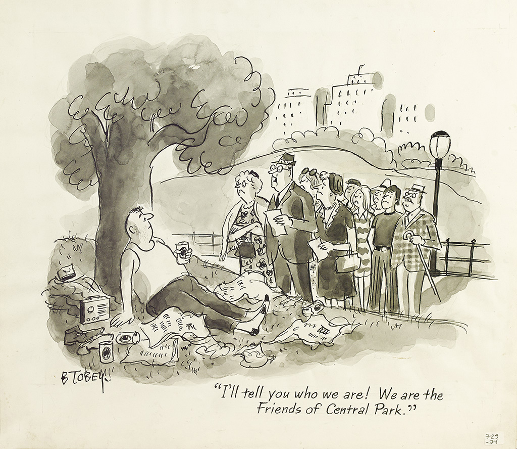 (THE-NEW-YORKER)-BARNEY-TOBEY-Ill-tell-you-who-we-are-We-are