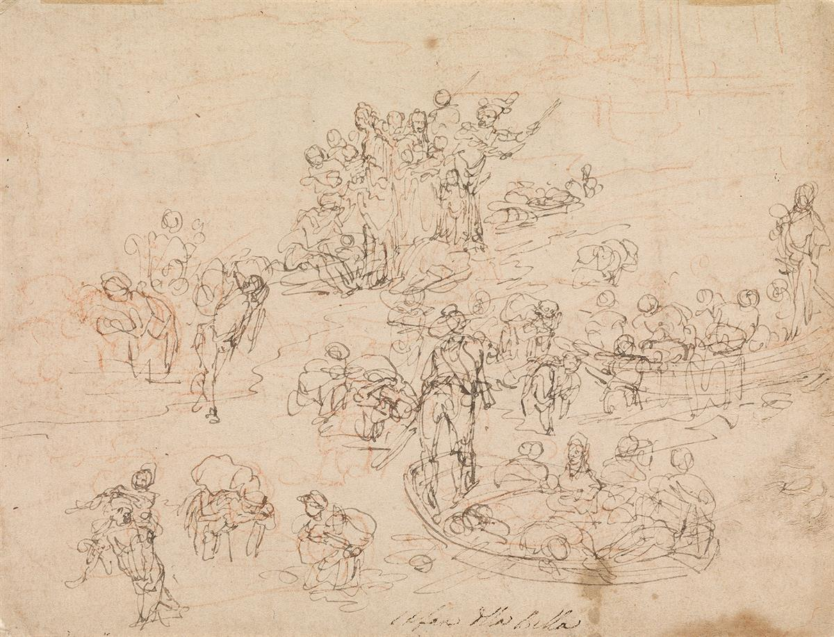 STEFANO-DELLA-BELLA-(Florence-1610-1664-Florence)-A-Sheet-of