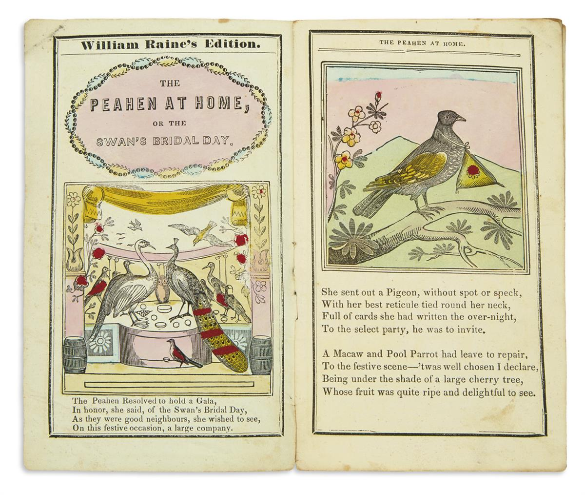 (CHILDRENS-BOOKS)-Group-of-14-early-American-childrens-chapb
