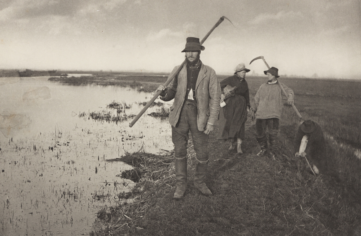 PETER HENRY EMERSON (1856-1936) Cutting the Gladdon * Coming Home from the Marshes * The Fringe of the Marsh.