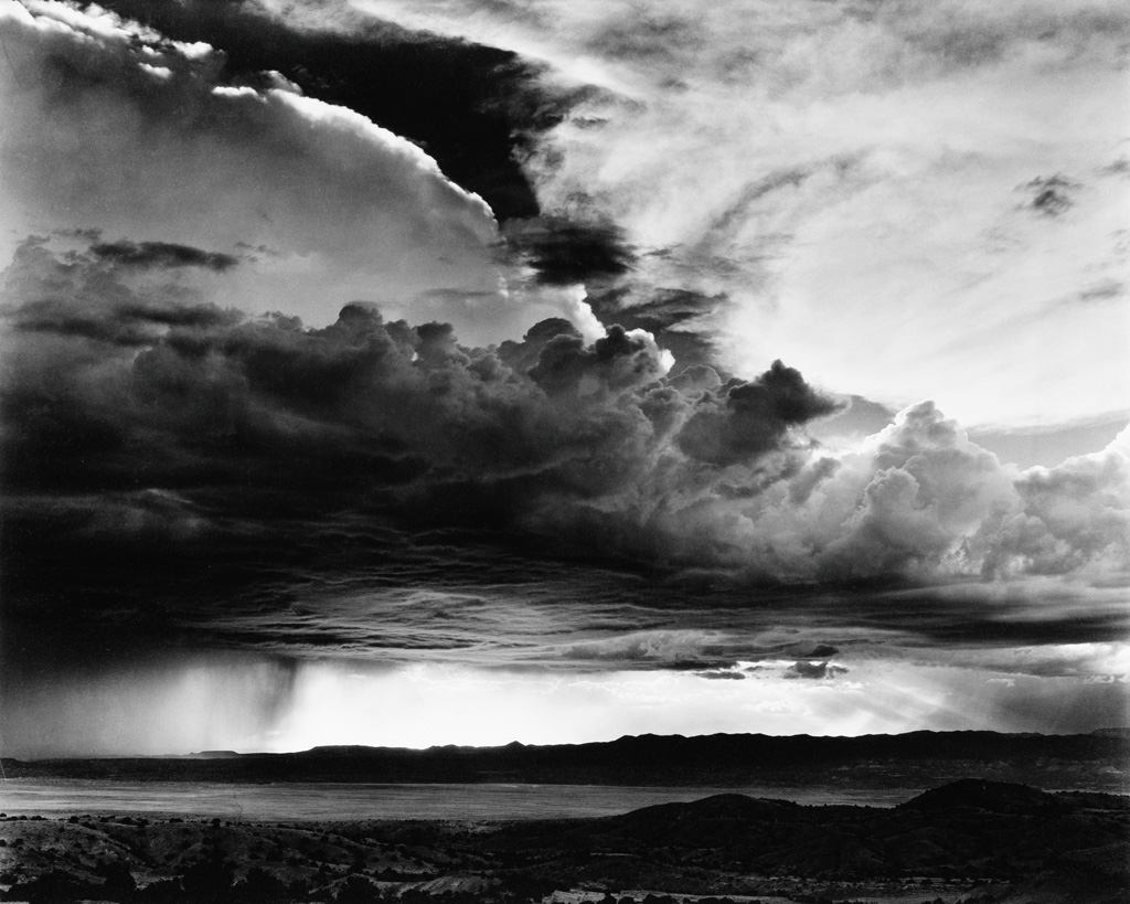 LAURA GILPIN (1891-1979) The Storm Over La Bajada.