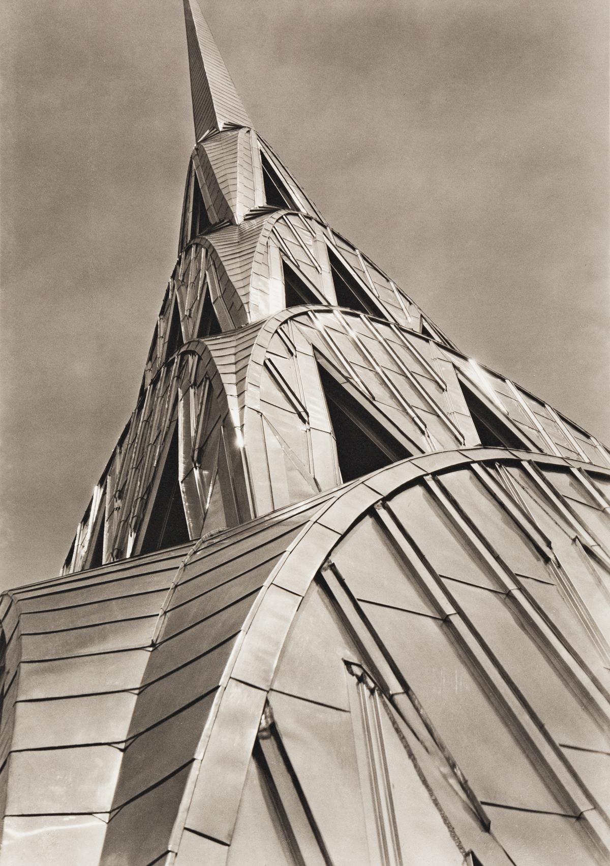 (MARGARET BOURKE-WHITE) (1904-1971) Chrysler Building, New York City.