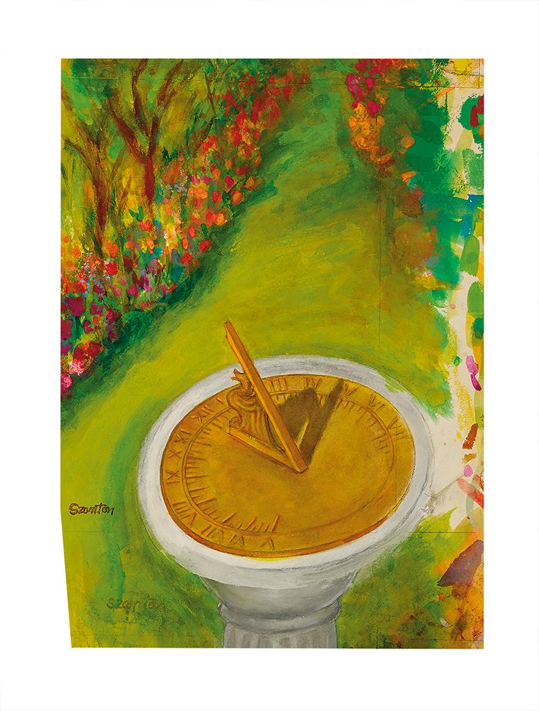 (THE-NEW-YORKER)-BEATRICE-SZANTON-Sundial