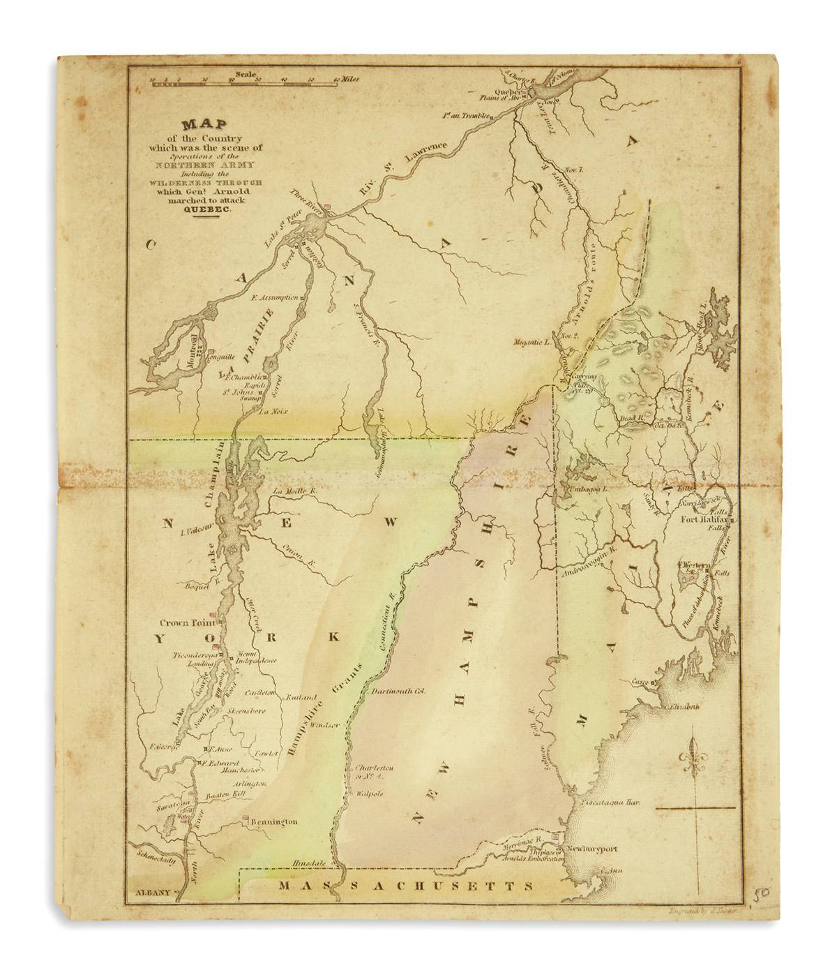 (MAINE)-Group-of-manuscripts-and-ephemera-relating-to-Maine