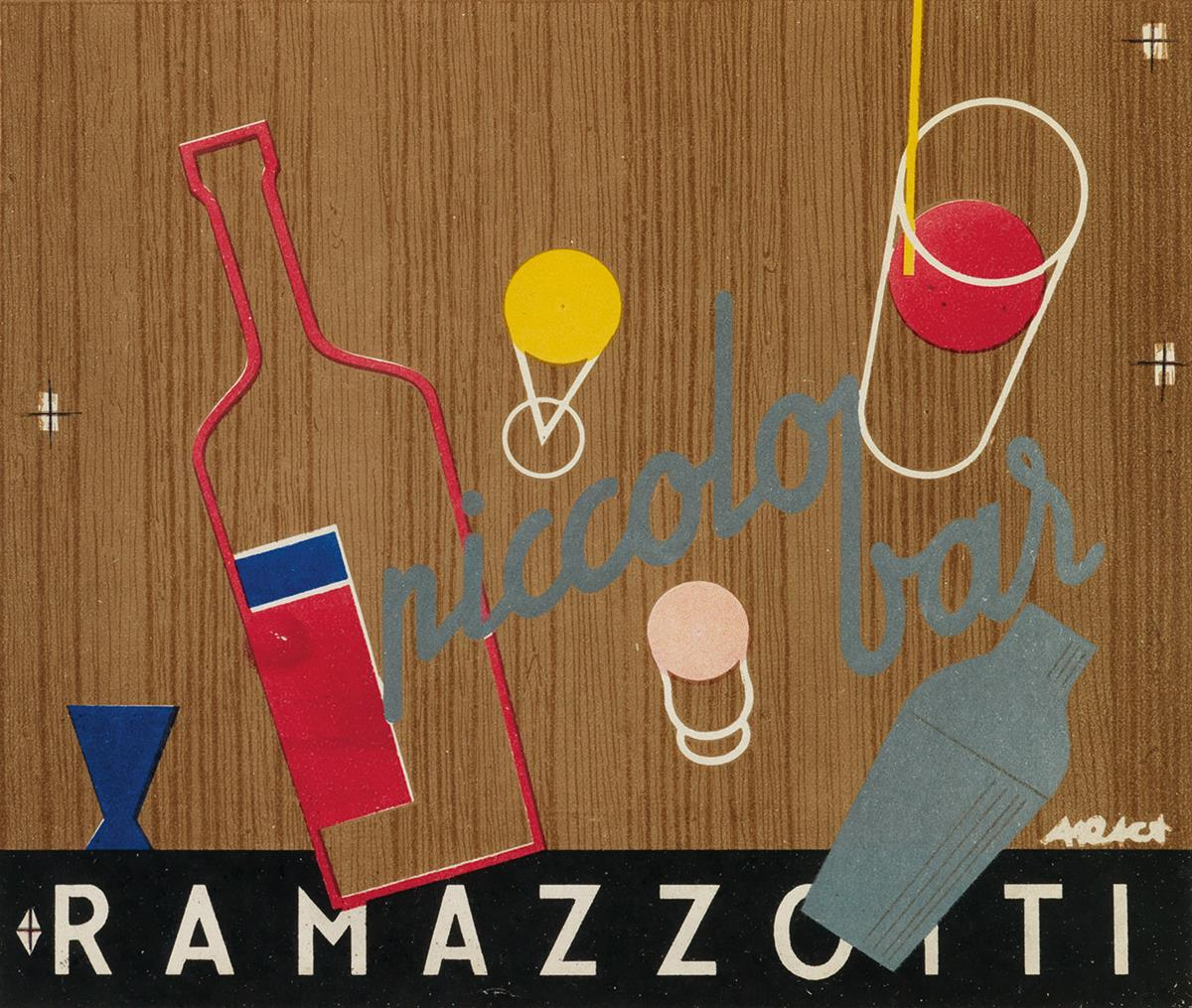 ARACA-(DATES-UNKNOWN)-RAMAZZOTTI-Two-labels-Each-approximate