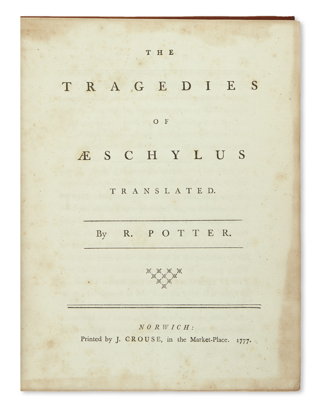 AESCHYLUS--The-Tragedies--1777