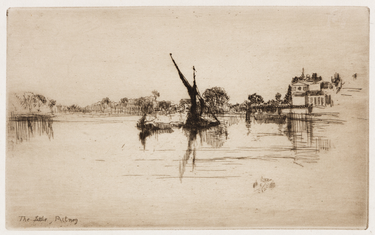 JAMES A. M. WHISTLER The Little Putney, No. 2.