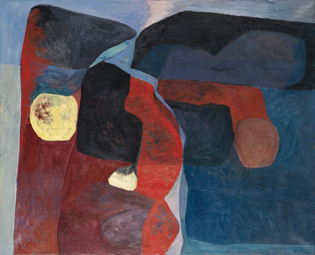 LARRY POTTER (1925 - 1966) The Edge.