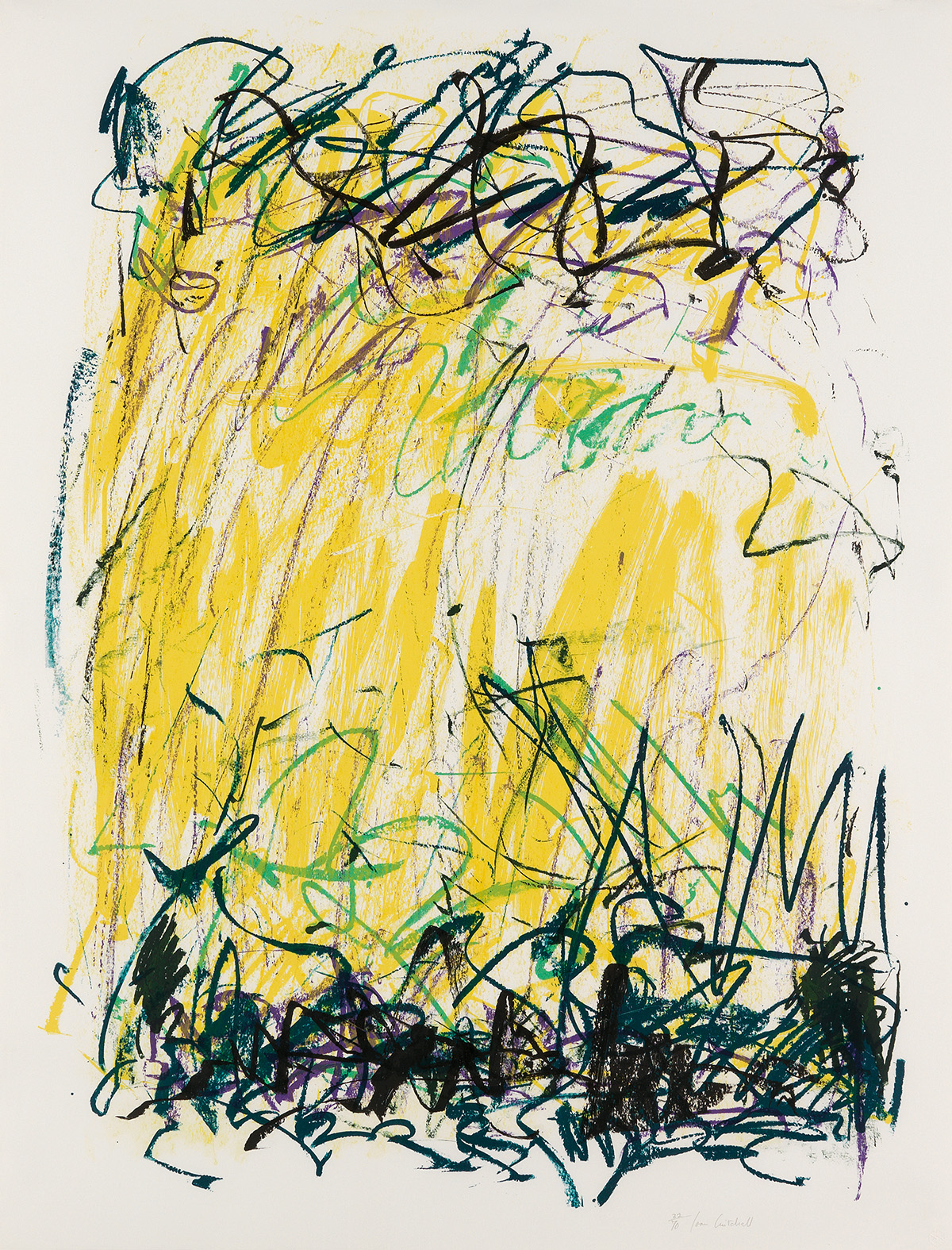 JOAN MITCHELL Sides of a River II.