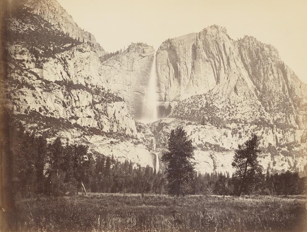 CARLETON-E-WATKINS-(1829-1916)-The-Great-Yo-Semite-Falls