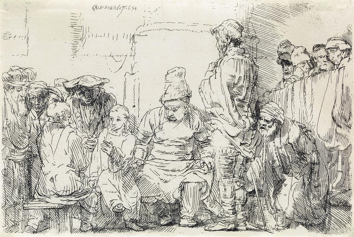 REMBRANDT-VAN-RIJN-Christ-Seated-Disputing-with-the-Doctors