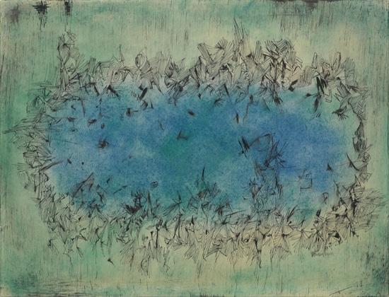 NORMAN LEWIS (1909 - 1979) Untitled (Dancing Figures).