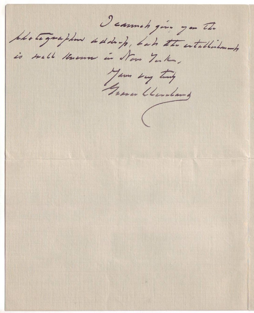 CLEVELAND-GROVER-Autograph-Letter-Signed-to-publisher-George