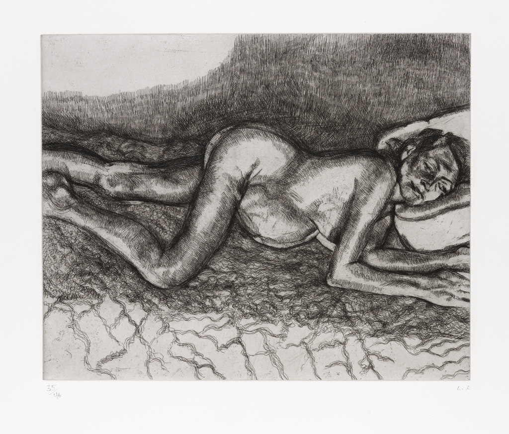 LUCIAN FREUD Before the Fourth.
