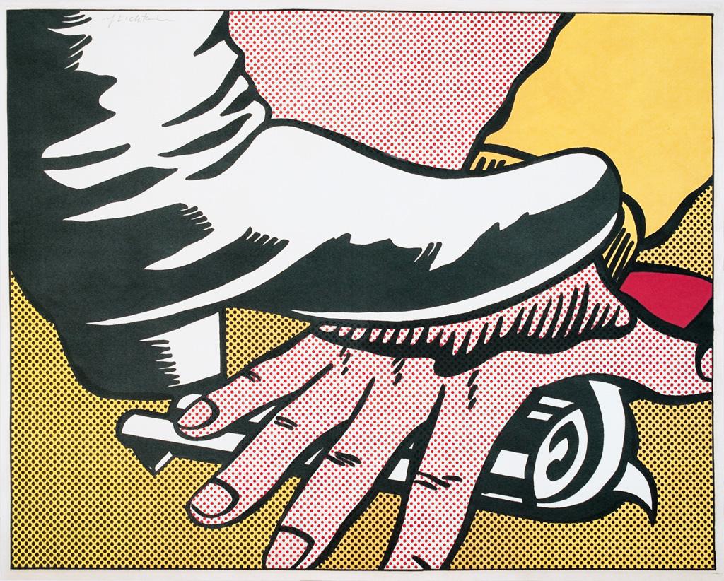 ROY LICHTENSTEIN Foot and Hand.
