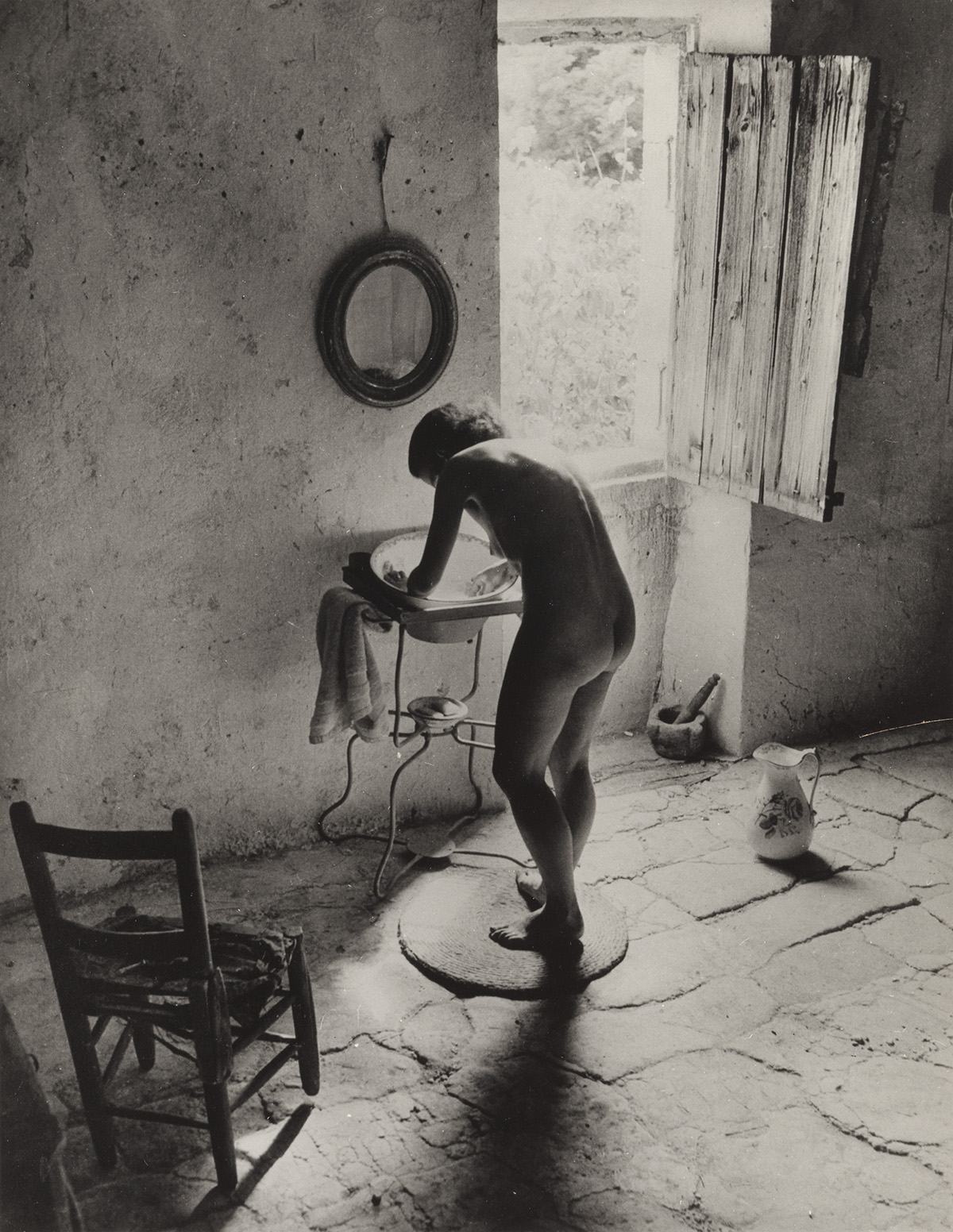 WILLY RONIS (1910-2009) Le nu Provençal.
