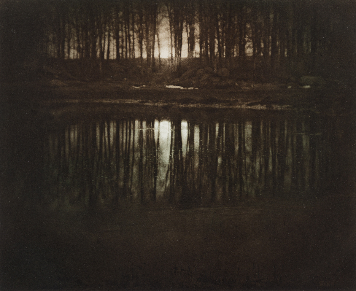 (EDWARD STEICHEN) (1879-1973) Moonrise, Mamaroneck, New York, from The Early Years portfolio.