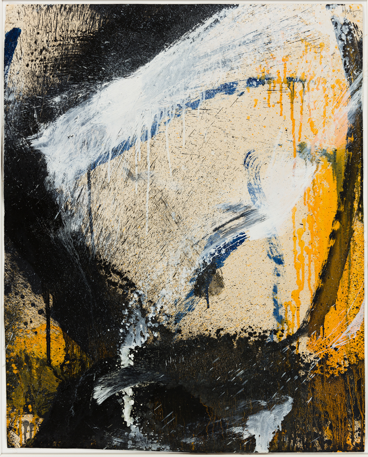 NORMAN BLUHM (1921 - 1999, AMERICAN) Untitled.