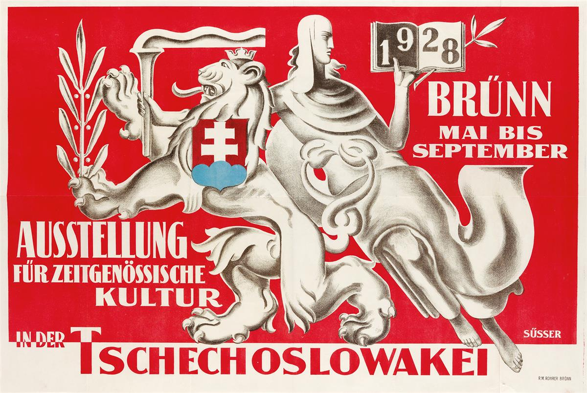 FRANTISEK-VACLAV-SÜSSER-(1890-1956)-AUSSTELLUNG--TSCHECHOSLO