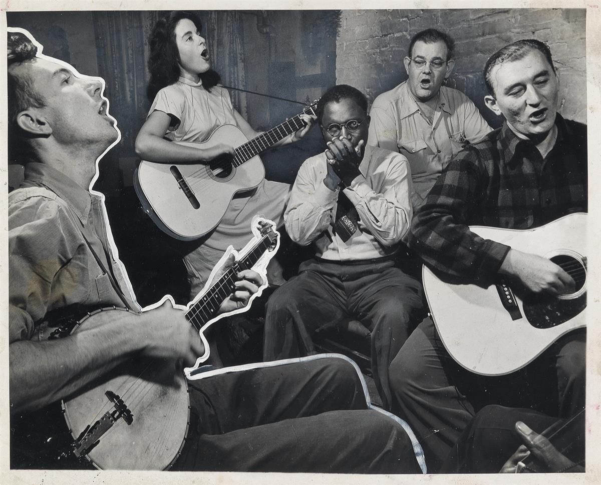MORRIS-ENGEL-(1918-2005)-Pete-Seeger-and-friends