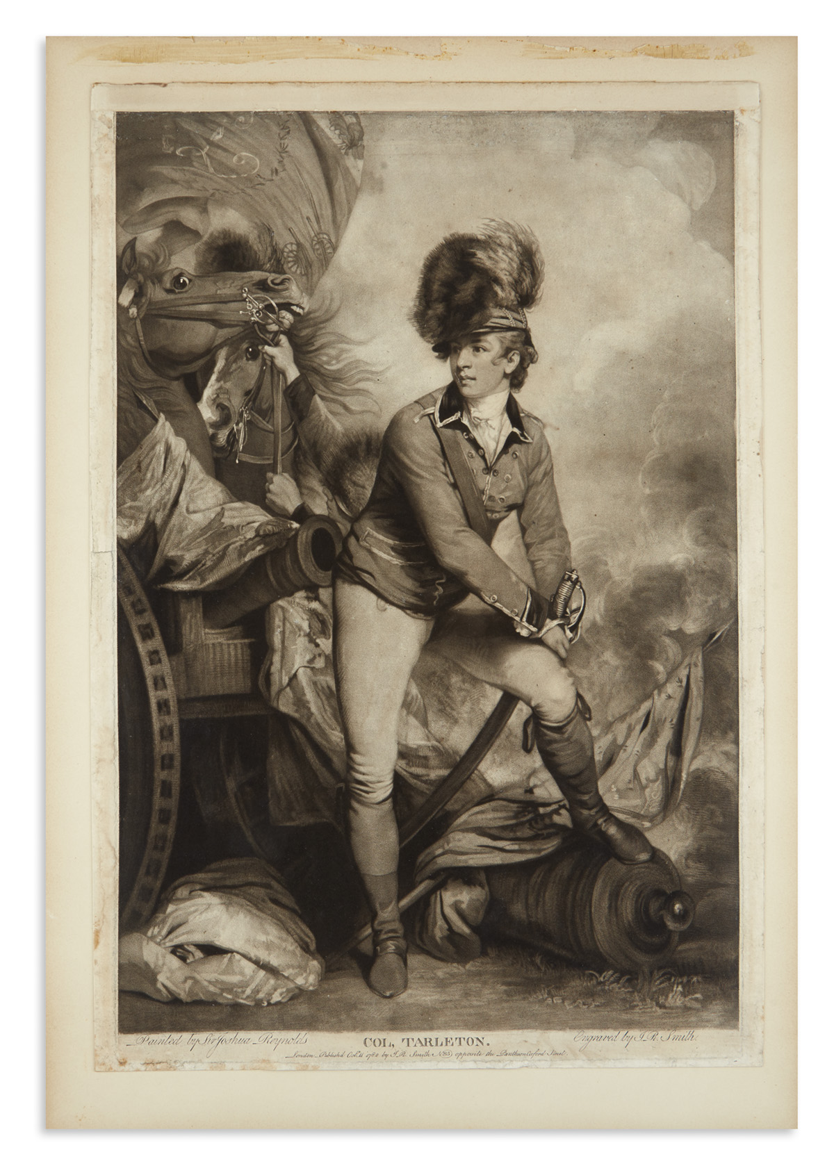 (AMERICAN-REVOLUTION--1782)-Smith-JR-engraver-Engraving-of-B
