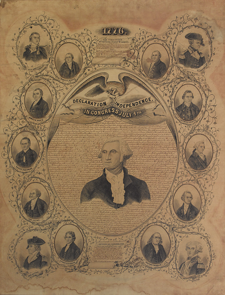 (DECLARATION-OF-INDEPENDENCE)-Ames-DT;-artist-A-stunning-ill