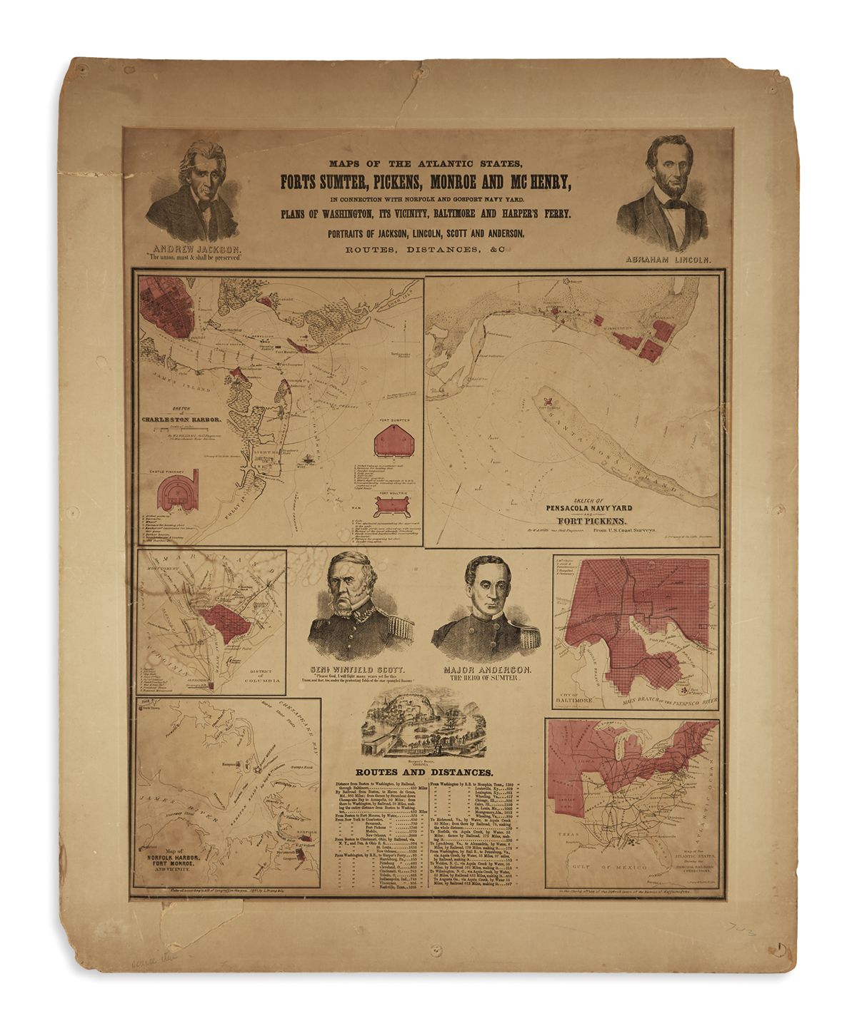 (PRINTS--PRESIDENTIAL)-Maps-of-the-Atlantic-States-Forts-Sum