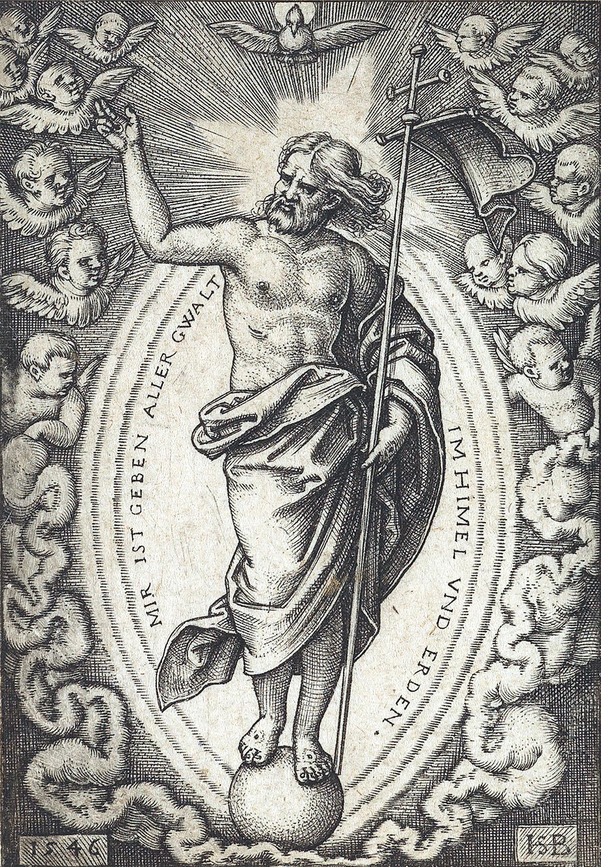 HANS SEBALD BEHAM Group of 5 engravings.