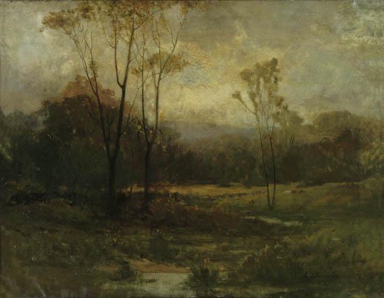 EDWARD-M-BANNISTER-(1828---1905)-Untitled-(Rhode-Island-Land