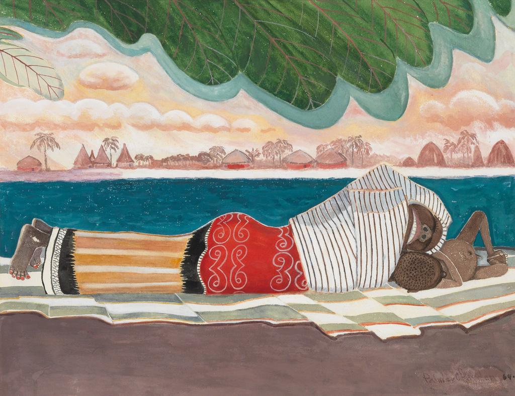 PALMER HAYDEN (1890 - 1973) The Blue Nile.