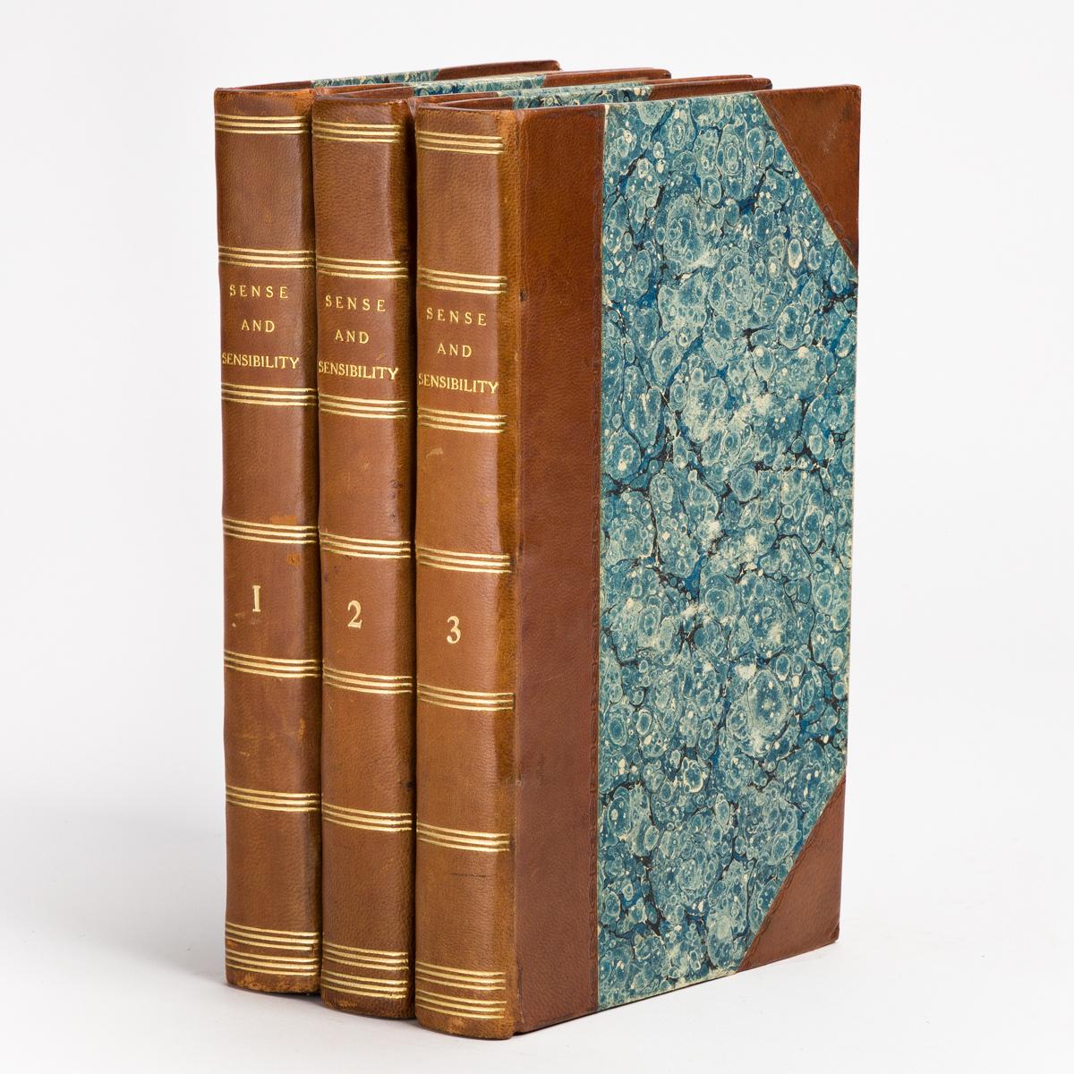 AUSTEN, JANE. Sense and Sensibility: A Novel. In Three Volumes.