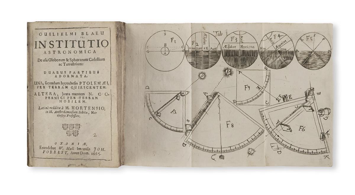 Blaeu, Willem Janszoon (1571-1638) Institutio Astronomica de usu Globorum & Sphaerarum Caelestium ac Terrestrium.