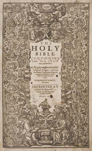 BIBLE-IN-ENGLISH--1611--The-Holy-Bible-Conteyning-the-Old-Te