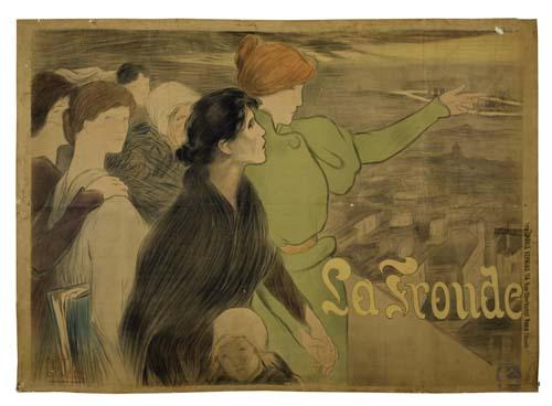 CLEMENTINE-HELENE-DUFAU-(1869-1937)-LA-FRONDE-1898-39x54-inc