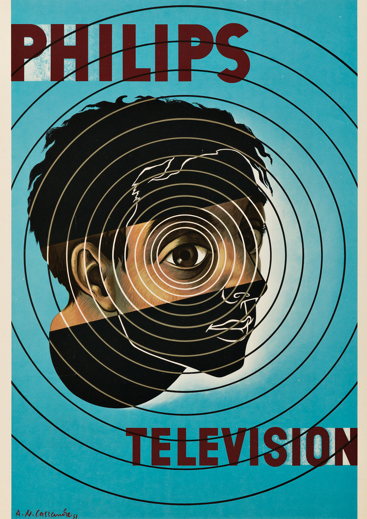 ADOLPHE-MOURON-CASSANDRE-(1901-1968)-PHILIPS--TELEVISION-195