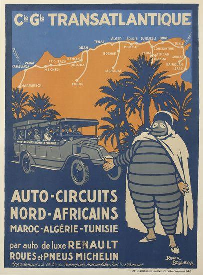 ROGER-BRODERS-(1883-1953)-CIE-GLE-TRANSATLANTIQUE-1922-42x30